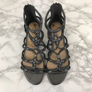 Sam Edelman Shoes - Sam Edelman Daryn Gladiator Sandal Pewter Grey